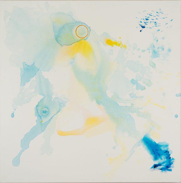 in silence Acrylic on canvas 100 x 100 cm