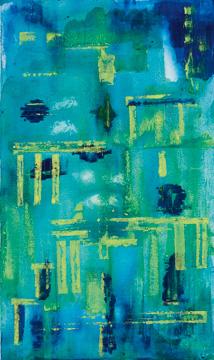 o.T Acryl auf Leinen 100 x 60 cm