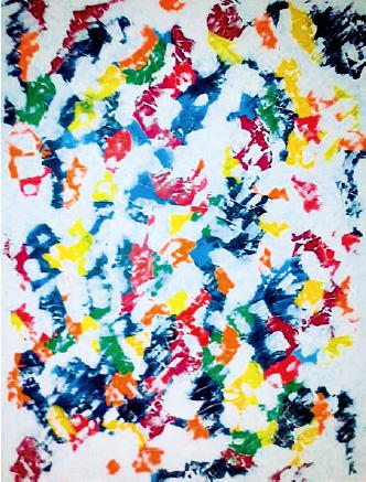 """Barbara Haag """"Licht des Südens"""" 2012, 80 x 60 cm, Acryl auf Leinen"""